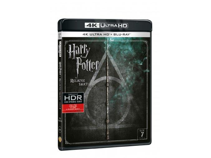 Harry Potter a Relikvie smrti - část 2. 2BD (UHD+BD)