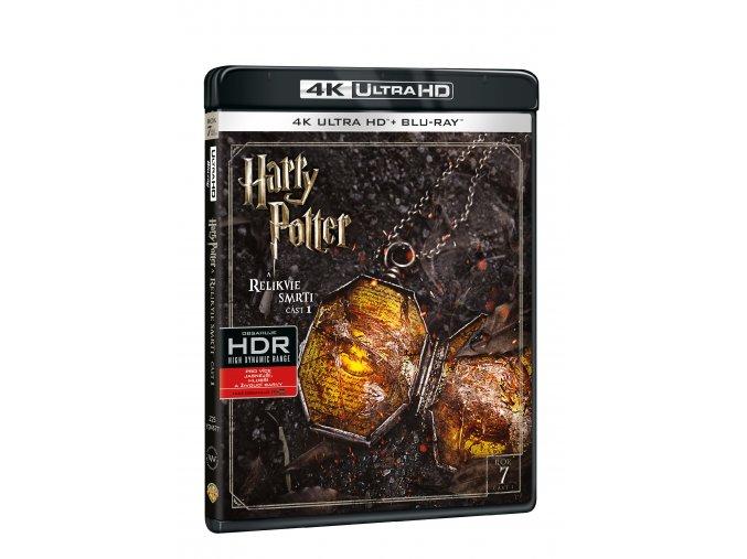 Blu-ray: Harry Potter a Relikvie smrti - část 1. - 4K UHD Blu-ray + Blu-ray
