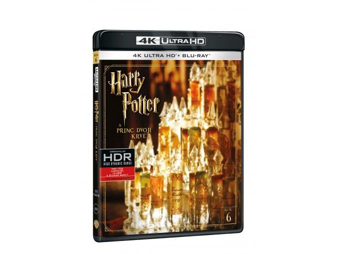 Blu-ray: Harry Potter a Princ dvojí krve - 4K UHD Blu-ray + Blu-ray