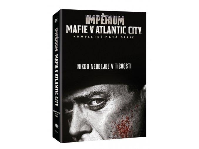 DVD: Impérium-Mafie v Atlantic City 5.série 3DVD (VIVA balení)