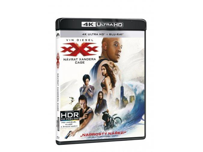 xXx: Návrat Xandera Cage 2BD (UHD+BD)