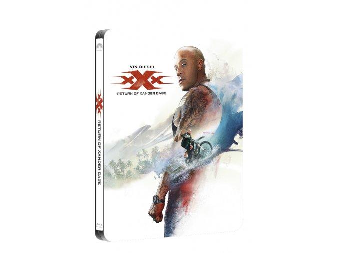 xxx navrat xandera cage 2blu ray 3d 2d steelbook 3D O