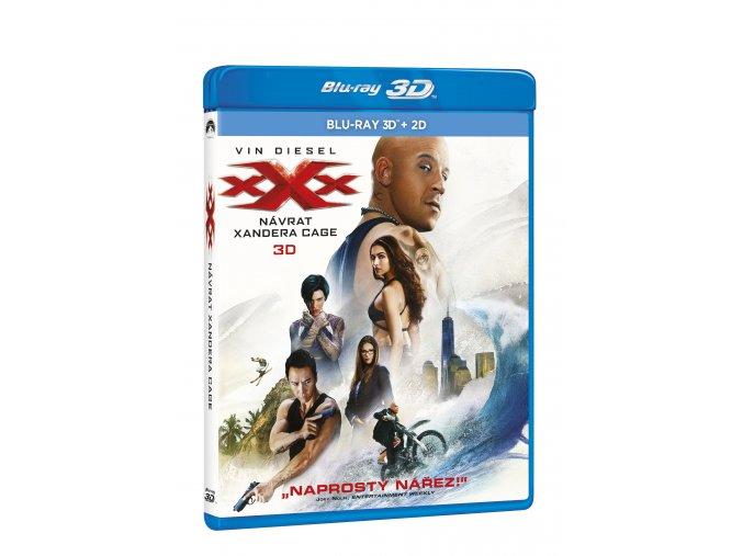 xXx: Návrat Xandera Cage BD (3D+2D)