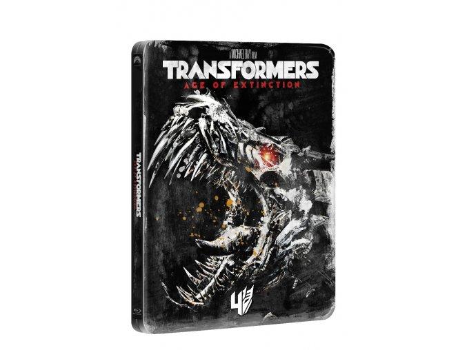 transformers zanik blu ray edice 10 let steelbook 3D O