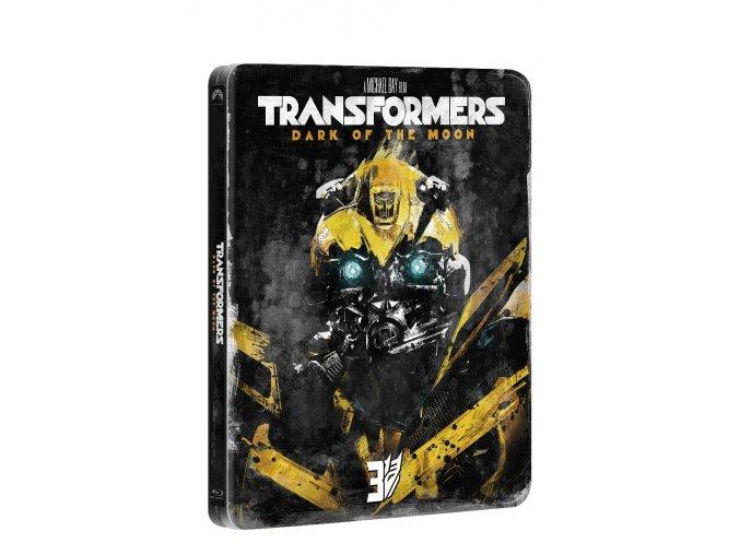 transformers 3 blu ray edice 10 let steelbook 3D O