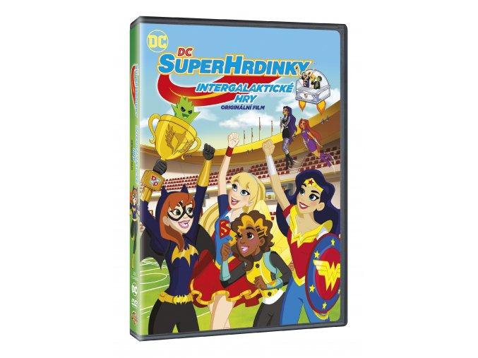 DVD: DC Superhrdinky: Intergalaktické hry