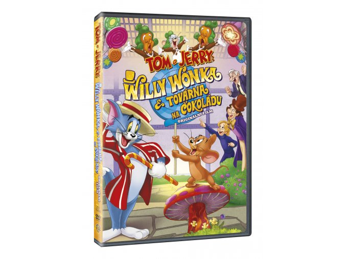 Tom a Jerry: Willy Wonka a továrna na čokoládu DVD