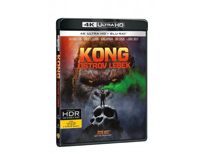 Kong: Ostrov lebek 2BD (UHD+BD)