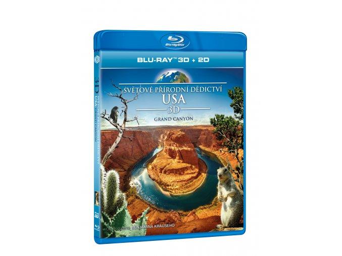 Světové přírodní dědictví: USA - Grand Canyon BD (3D)