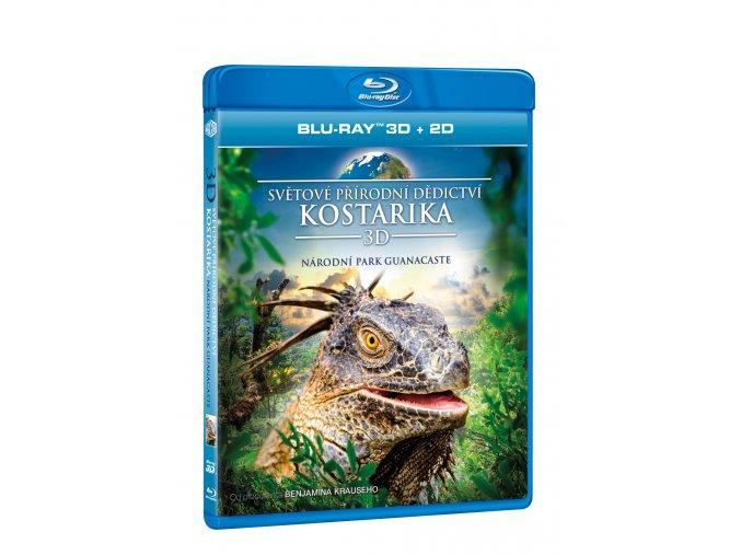 Světové přírodní dědictví: Kostarika - Národní park Guanacaste BD (3D)
