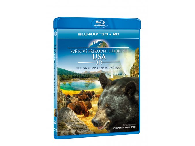 Světové přírodní dědictví: USA - Yellowstonský národní park BD (3D)