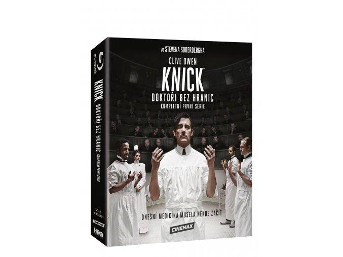 Blu-ray: Knick: Doktoři bez hranic 1. série 4BD (VIVA balení)