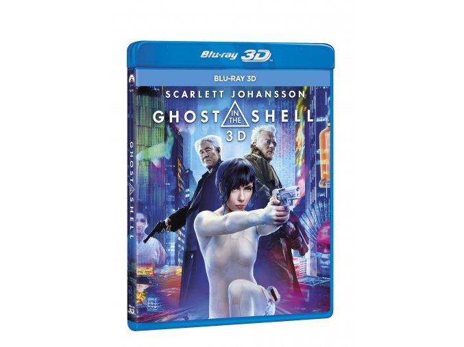 Blu-ray: Ghost in the Shell (3D)