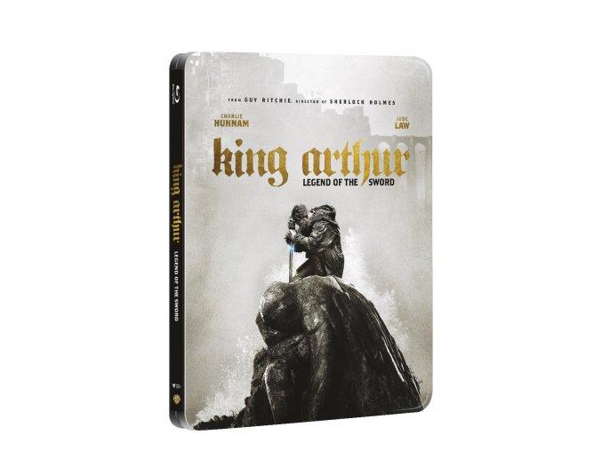 kral artus legenda o meci 2blu ray 3d 2d steelbook 3D O