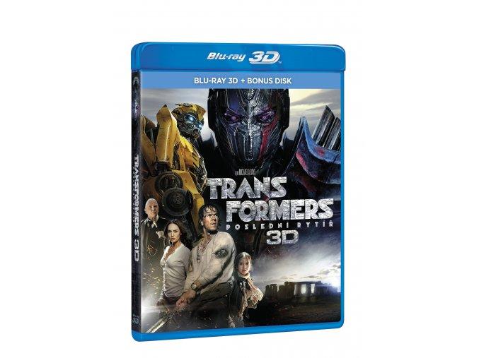 Transformers: Poslední rytíř 2BD (3D+bonus disk)