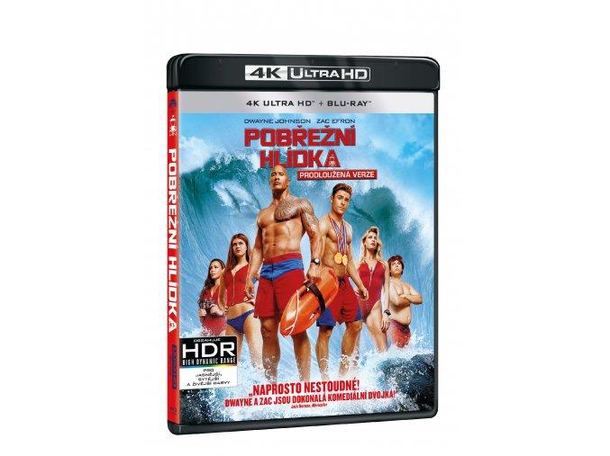 Blu-ay: Pobřežní hlídka 4K UHD Blu-ray + Blu-ray