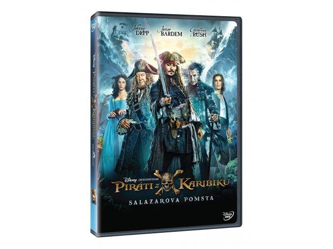 Piráti z Karibiku 5: Salazarova pomsta DVD