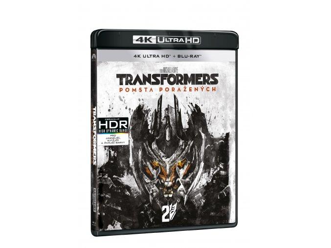 Transformers: Pomsta poražených 2BD (UHD+BD)