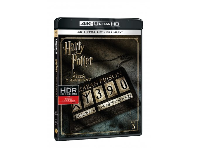Harry Potter a Vězeň z Azkabanu 2BD (UHD+BD)