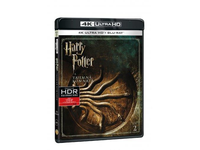 Harry Potter a Tajemná komnata 2BD (UHD+BD)