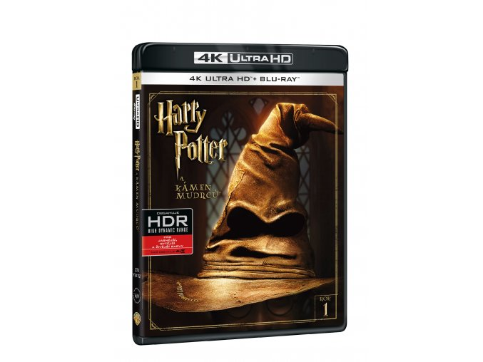 Blu-ray: Harry Potter a Kámen mudrců (4K ULTRA HD) - UHD Blu-ray + Blu-ray (2 BD)