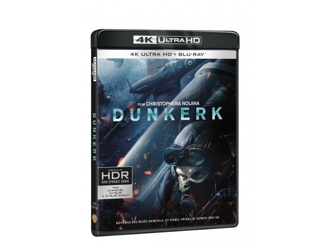 Blu-ray: Dunkerk 3BD (UHD+BD+bonus disk)