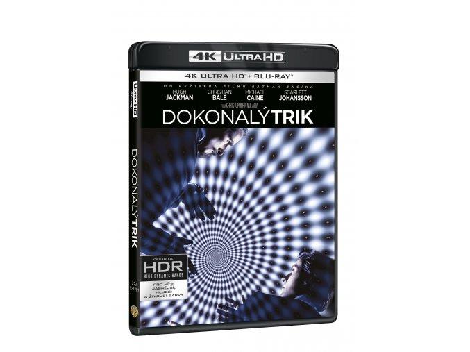 Blu-ray: Dokonalý trik 3BD (UHD+BD+bonus disk)