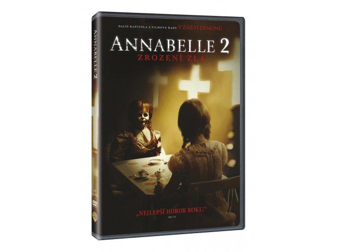 DVD: Annabelle 2: Zrození zla