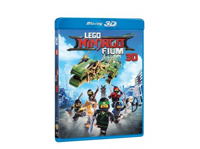 Blu-ray: Lego Ninjago film 2BD (3D+2D)