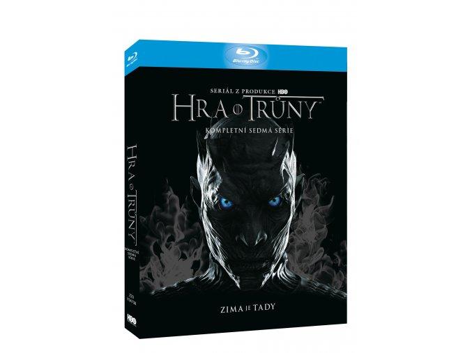 Blu-ray: Hra o trůny 7. série 3BD (Viva balení)