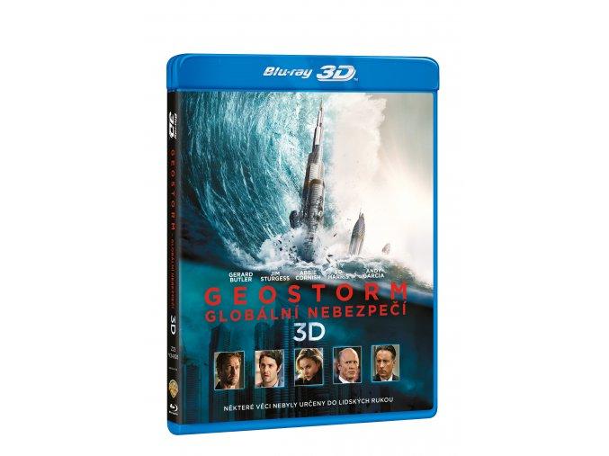Blu-ray: Geostorm - Globální nebezpečí 2BD (3D+2D)