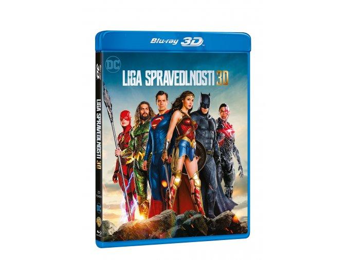 Blu-ray: Liga spravedlnosti 2BD (3D+2D)