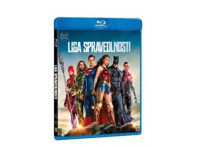 Blu-ray: Liga spravedlnosti