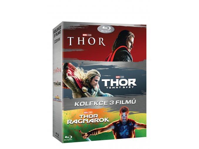 Blu-ray: Thor kolekce 1-3 3BD