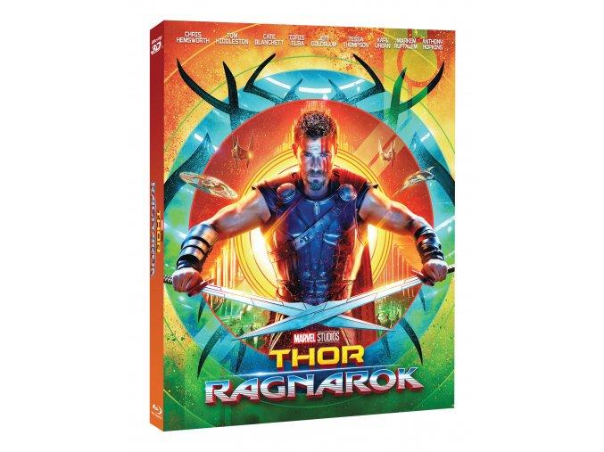 Blu-ray: Thor: Ragnarok 2BD (3D+2D) - Limitovaná sběratelská edice