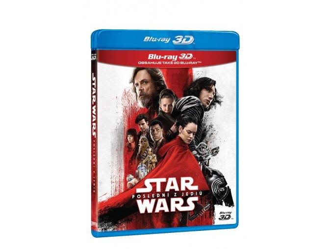 star wars posledni z jediu 3bd 3d 2d bonusovy disk 3D O