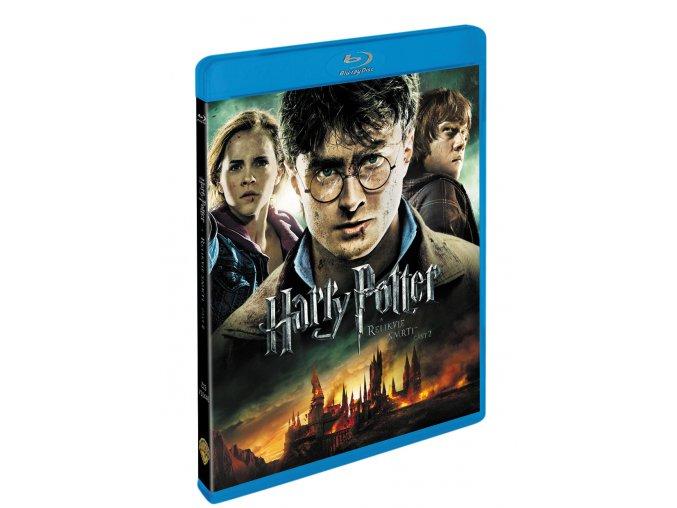Blu-ray: Harry Potter a Relikvie smrti - část 2. 2BD