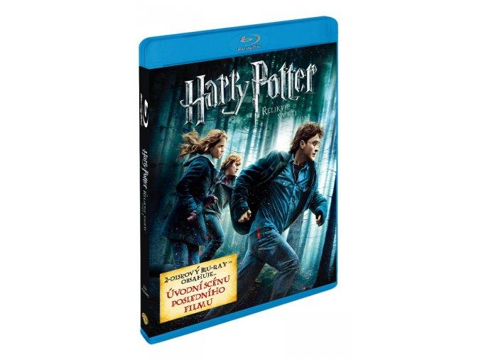 Blu-ray: Harry Potter a Relikvie smrti - část 1. 2BD