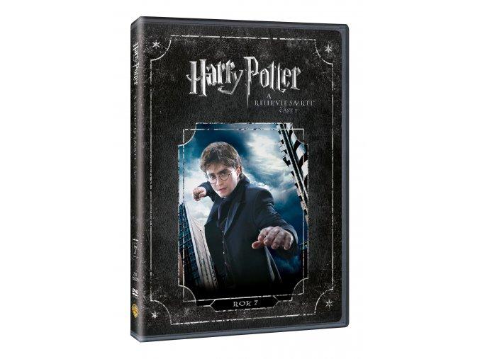 DVD: Harry Potter a Relikvie smrti - část 1.
