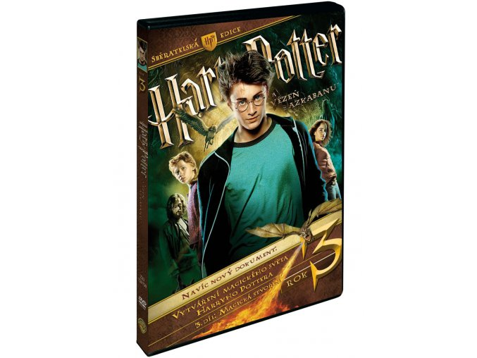 DVD: Harry Potter a Vězeň z Azkabanu S.E. 3DVD