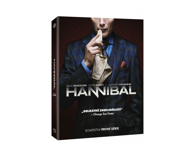 Blu-ray: Hannibal 1. série 4BD