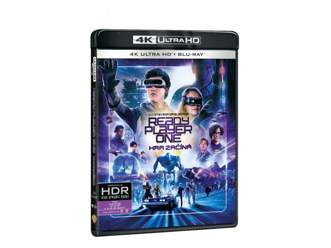 ready player one hra zacina 2blu ray uhd bd 3D O