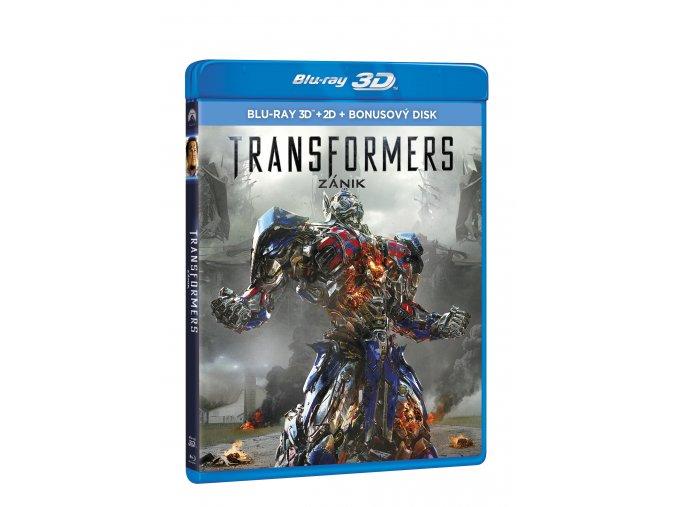 Blu-ray: Transformers: Zánik 3BD (3D+2D+bonus BD)