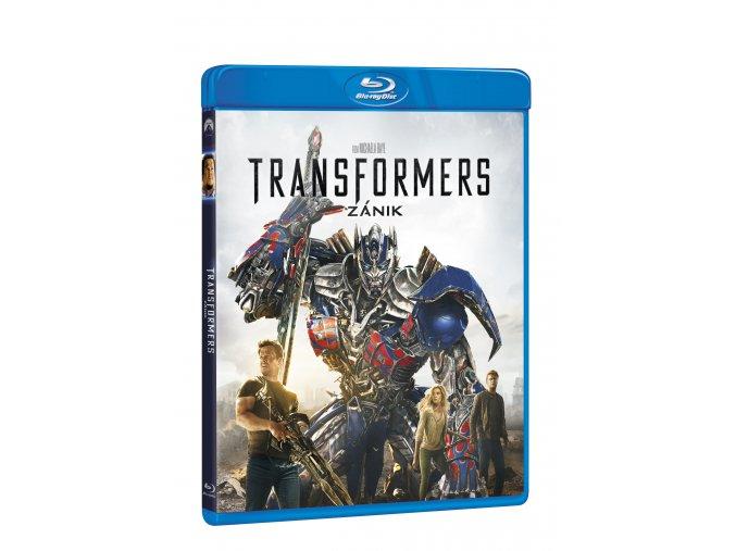 Blu-ray: Transformers: Zánik 2BD (2D+bonus BD)