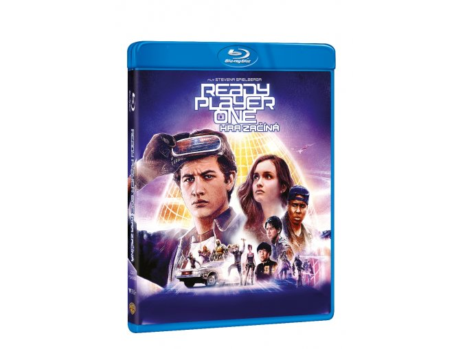ready player one hra zacina blu ray 3D O