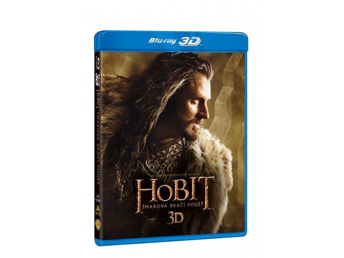 Blu-ray: Hobit: Šmakova dračí poušť 4BD (3D+2D)