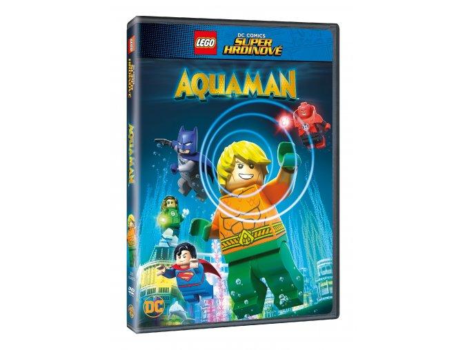 DVD: Lego DC Super hrdinové: Aquaman