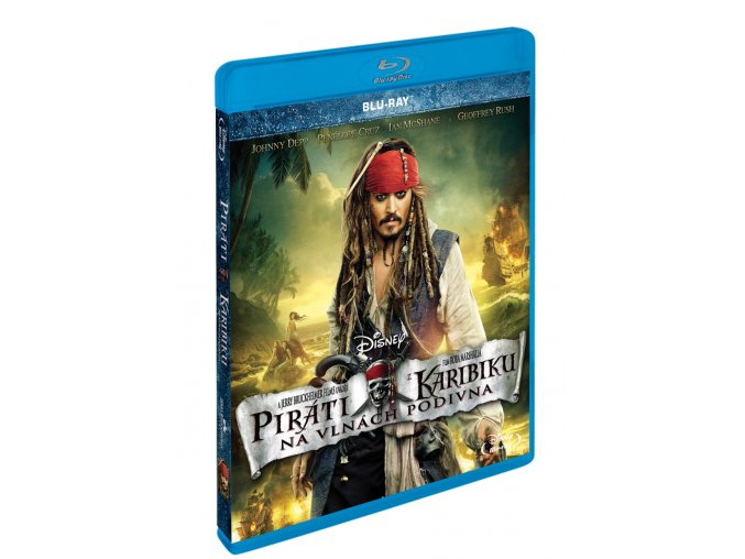 Blu-ray: Piráti z Karibiku: Na vlnách podivna