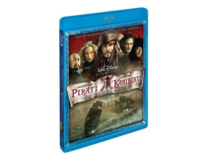 Piráti z Karibiku 3: Na konci světa BD