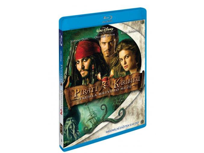 Blu-ray: Piráti z Karibiku 2: Truhla mrtvého muže